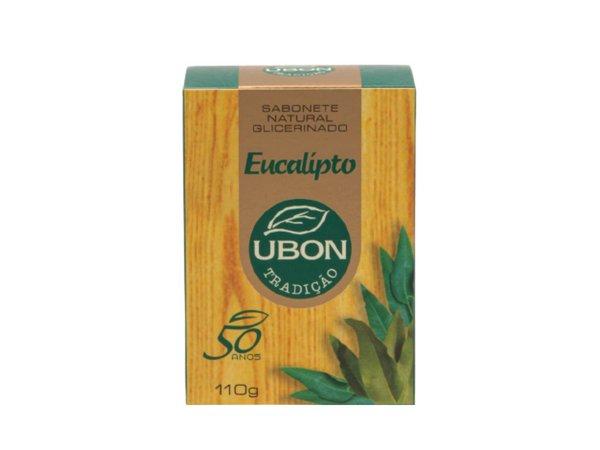 Sabonete natural glicerinado Eucalipto 110g  - Fribasex - Fabricasex.com