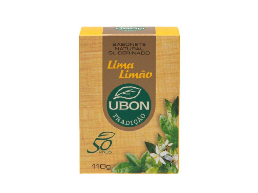 Sabonete natural glicerinado Lima Limão 110g  - Fribasex - Fabricasex.com