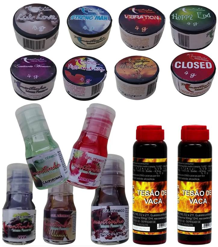 Sex shop  Tesão de vaca Produtos Adultos  Kit com 15 produtos eroticos  Sex shop produtos adultos Sex shop others Sex sh  - Fribasex - Fabricasex.com