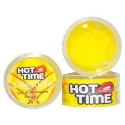 Sexshop produtos eroticos Pomada Funcional Conforto Hot Time 5g  - Fribasex - Fabricasex.com