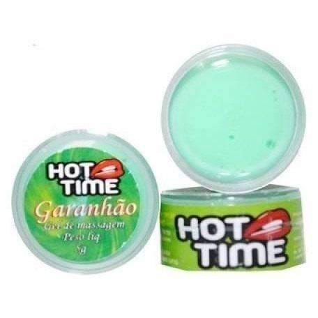 Sexshop produtos eroticos Retardante de Ejaculação Pomada Funcional Garanhão Hot Time 5g  - Fribasex - Fabricasex.com