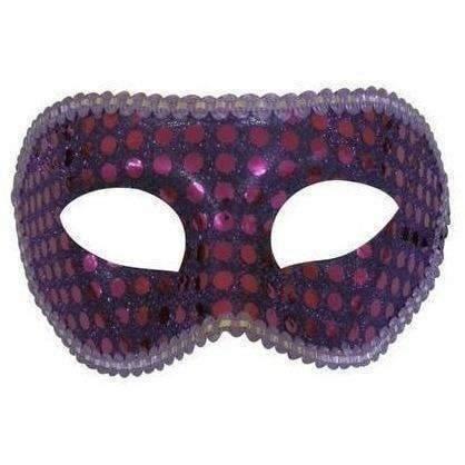 Sexshop Sexyhop  Atacado Máscara Paetê  - Fribasex - Fabricasex.com