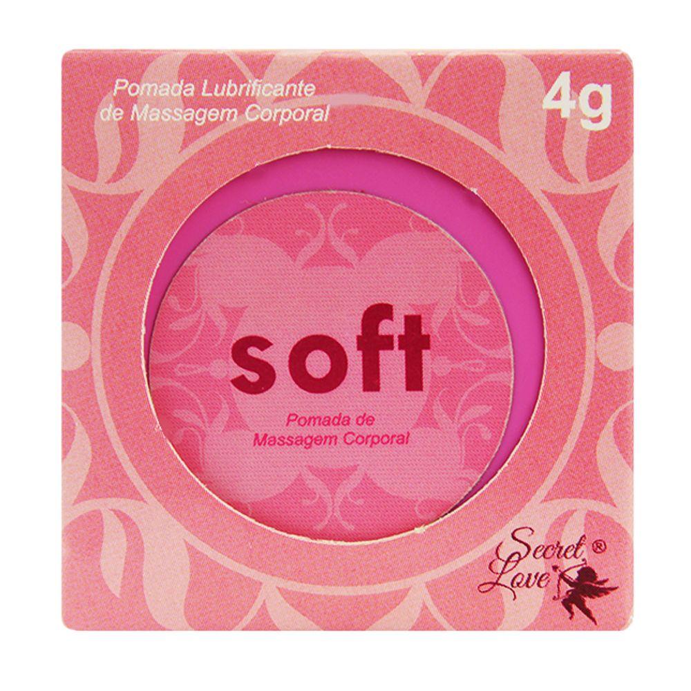 Soft Sex Dessensibilizante Anal 4G Segred Love Segred Love sexshop produtos eroticos no atacado  - Fribasex - Fabricasex.com