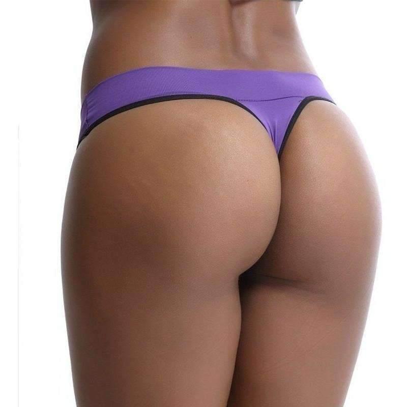 Tanga Cos fornecedor de calcinha - G - Violeta escuro  - Fribasex - Fabricasex.com