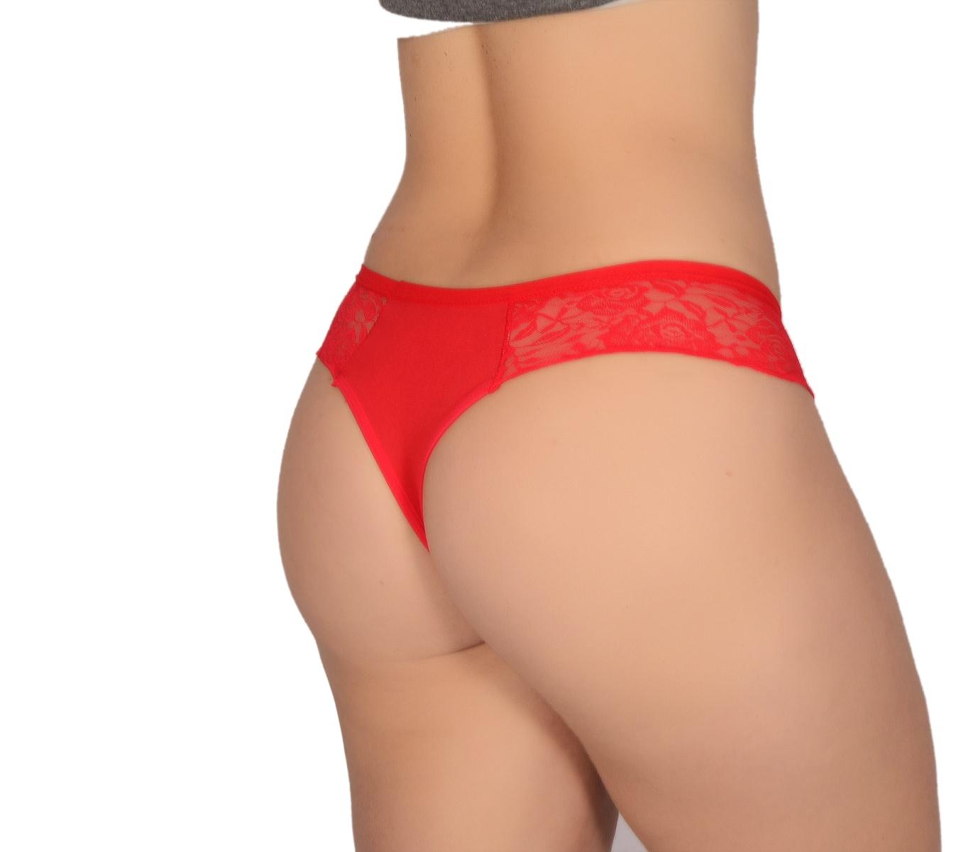 TANGA EM RENDA E ROMANTIC CAROL  - Fribasex - Fabricasex.com