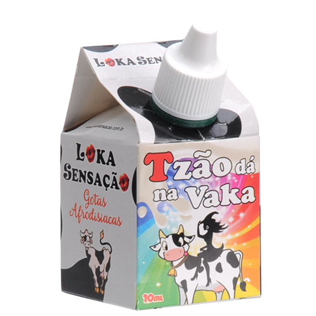 Tzão Dá Na Vaka Gotas Estimulantes 10ml Loka Sensação   - Fribasex - Fabricasex.com