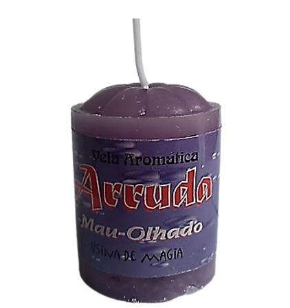 Vela Aromatica de Arruda Mau-Olhado Unitária 30gr  - Fribasex - Fabricasex.com