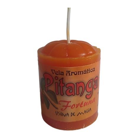 Vela Aromatica de Pitanga  Unitária 30gr  - Fribasex - Fabricasex.com