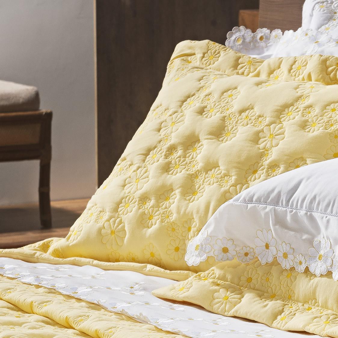 Cobre Leito Nuance Amarelo Margarida Queen