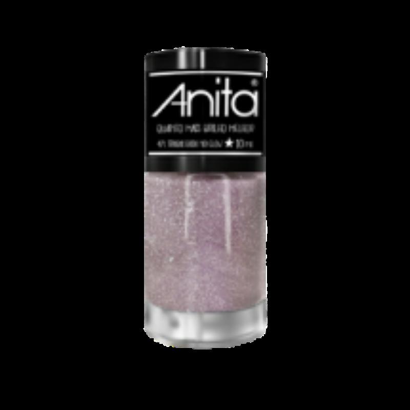 Esmalte Anita Trabalhada no glow - Quanto mais brilho melhor