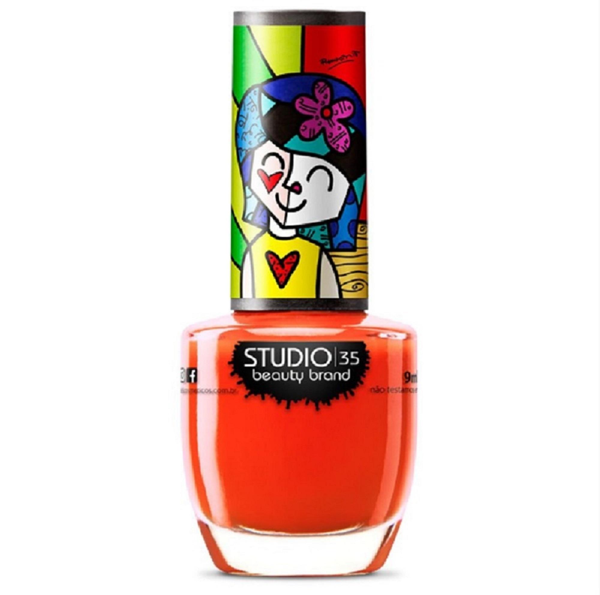 Esmalte Studio 35 O Amor Contagia - Romero Britto