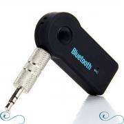 Adaptador Receptor Bluetooth Auxiliar P2 3.5mm Para Som Rádio De Carro