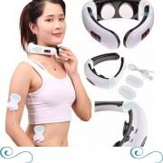 Aparelho Massageador De Pescoço Relaxa Os Músculos Fisioterapia Shiatsu