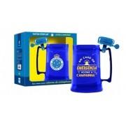 Caneca Cruzeiro Futebol Clube Time Gel Campainha 450ml Chopp