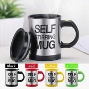 Caneca Mixer Automática Self Stirring Mug Varias Cores 380ml