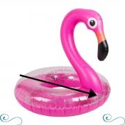 Boia Flamingo Rosa Pink Com Glitter Grande Piscina Inflável