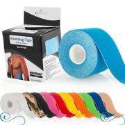 Fita kinesio tape fisioterapia bandagem funcional taping