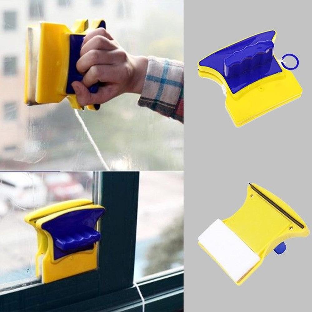 1 Duplo Limpador Magnético De Vidro Janelas Aquários - COPY-13262-2