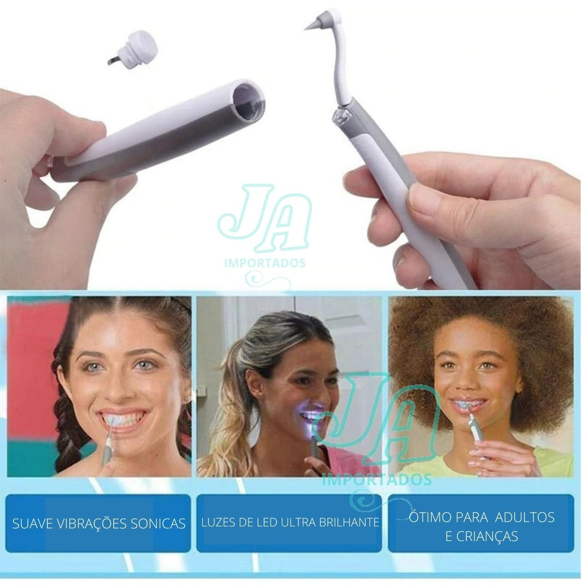 Aparelho de Limpeza Dental Remove Tartaro e Placas Bacterianas