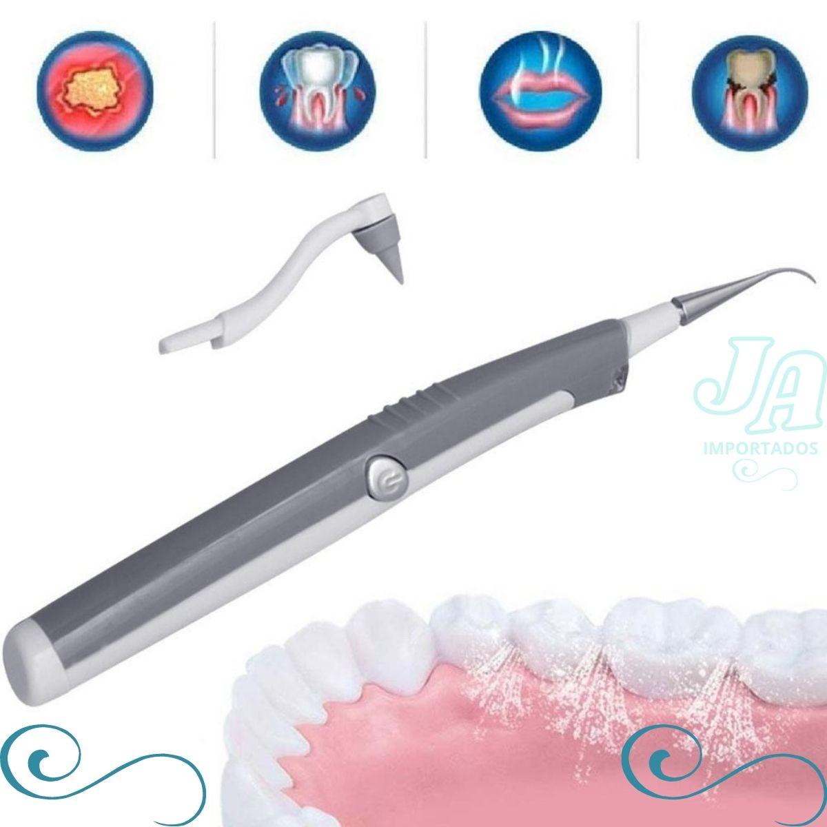 Aparelho de Limpeza Dental Remove Tartaro e Placas Bacterianass