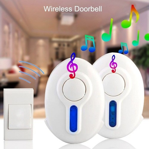 Campainha Sem Fio Wireless Doorbell 32 Toques 100m Residêncil
