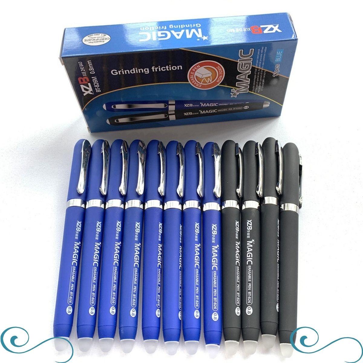 caneta que apaga caneta apagável Magic escrita 0.8 c/2