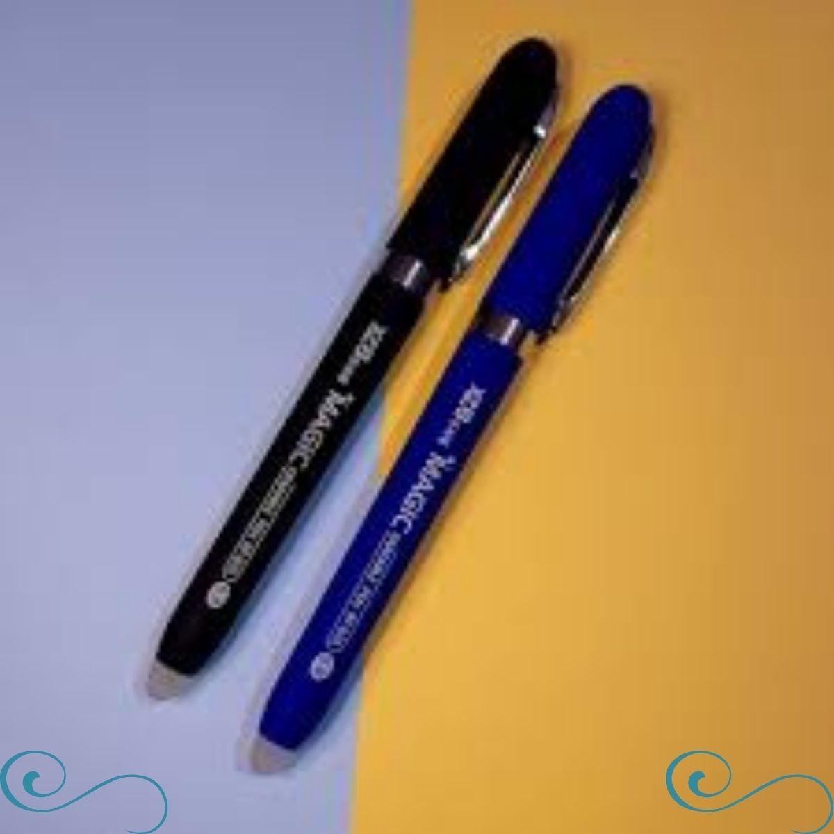 caneta que apaga caneta apagável Magic escrita 0.8 c/6un