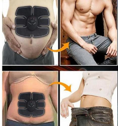 Estimulador Muscular Ems Emagrecimento Aparelho Abdominal