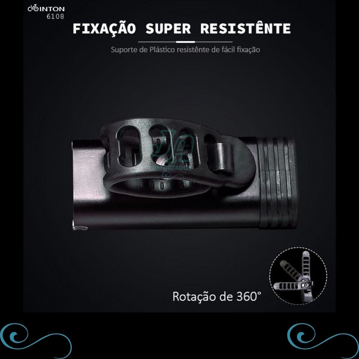 Farol de Bike Super resistente 350 lumens 7 modos - lançamento