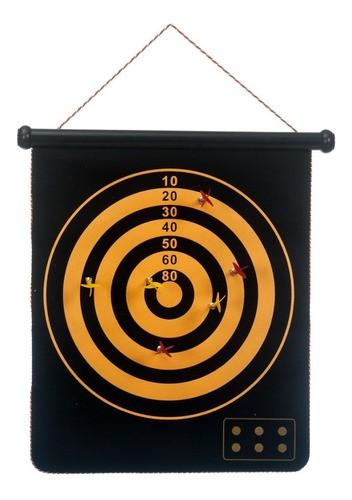Jogo Dardo Magnético Tiro Ao Alvo Ima Profissional 6 Dardos