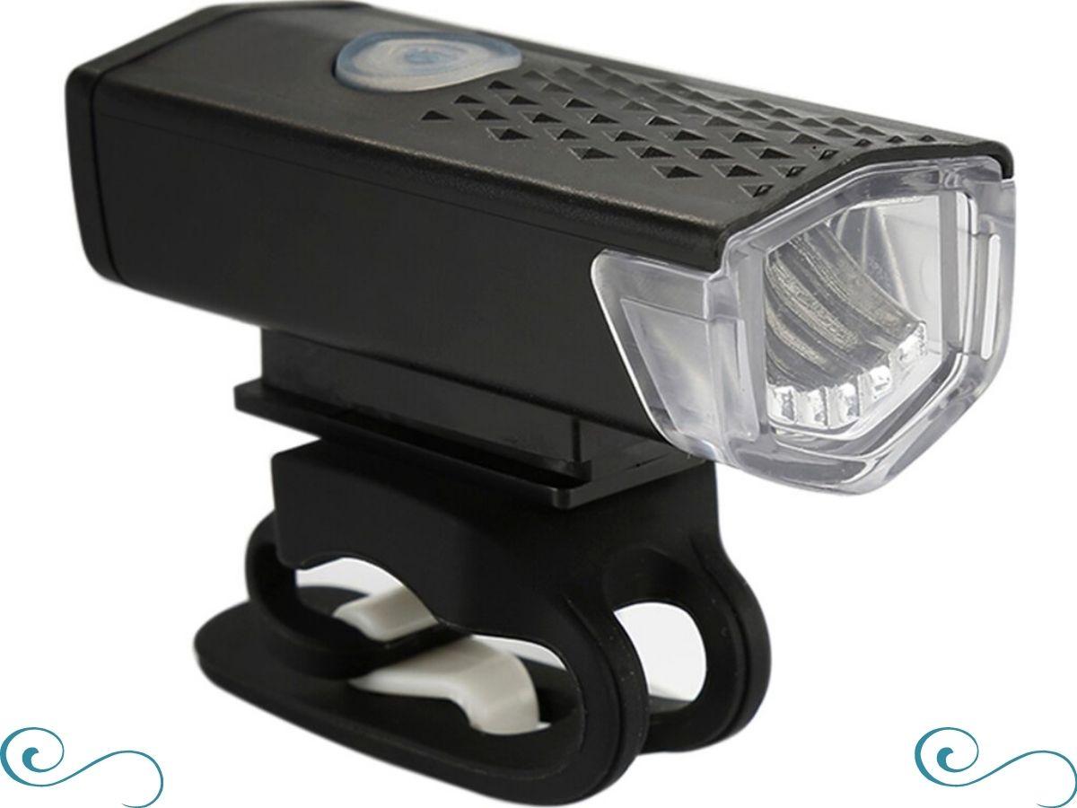 Lanterna farol Led Para Bicicleta Luz Forte Recarregável Usb