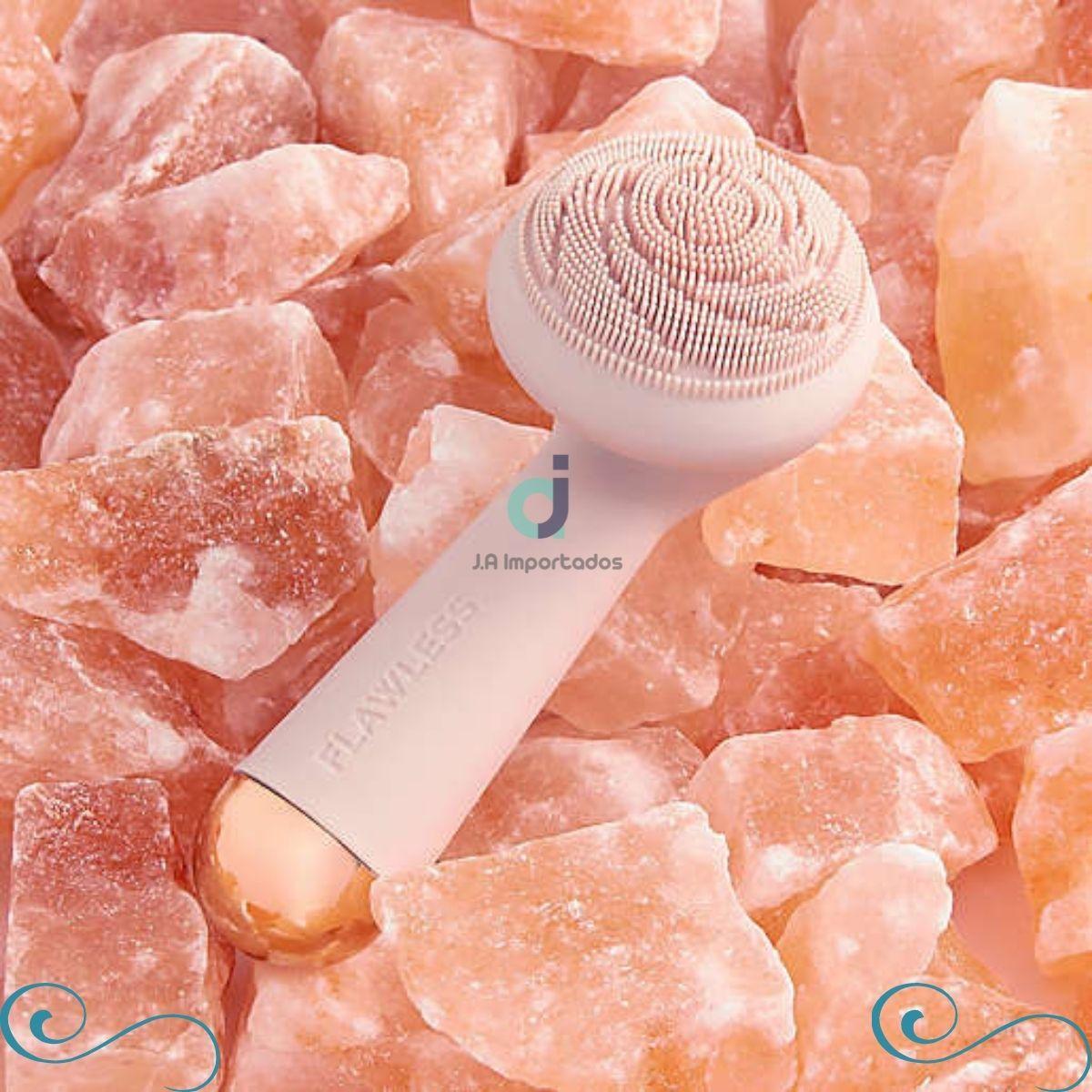 limpador facial de silicone hidro-vibrante Finishing Touch Flawless Cleanse