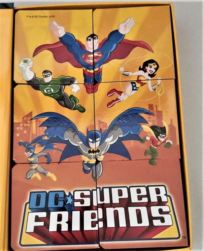 Livro Infantil Dc Super Friends  Box Com 6 Minilivros De Histórias