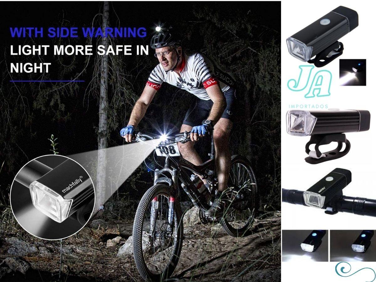 Luz para Bicicleta farol sinalizador bike led dianteira usb