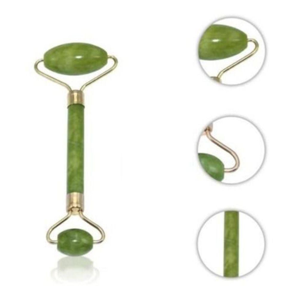 Rolo Massageador Pedra De Jade