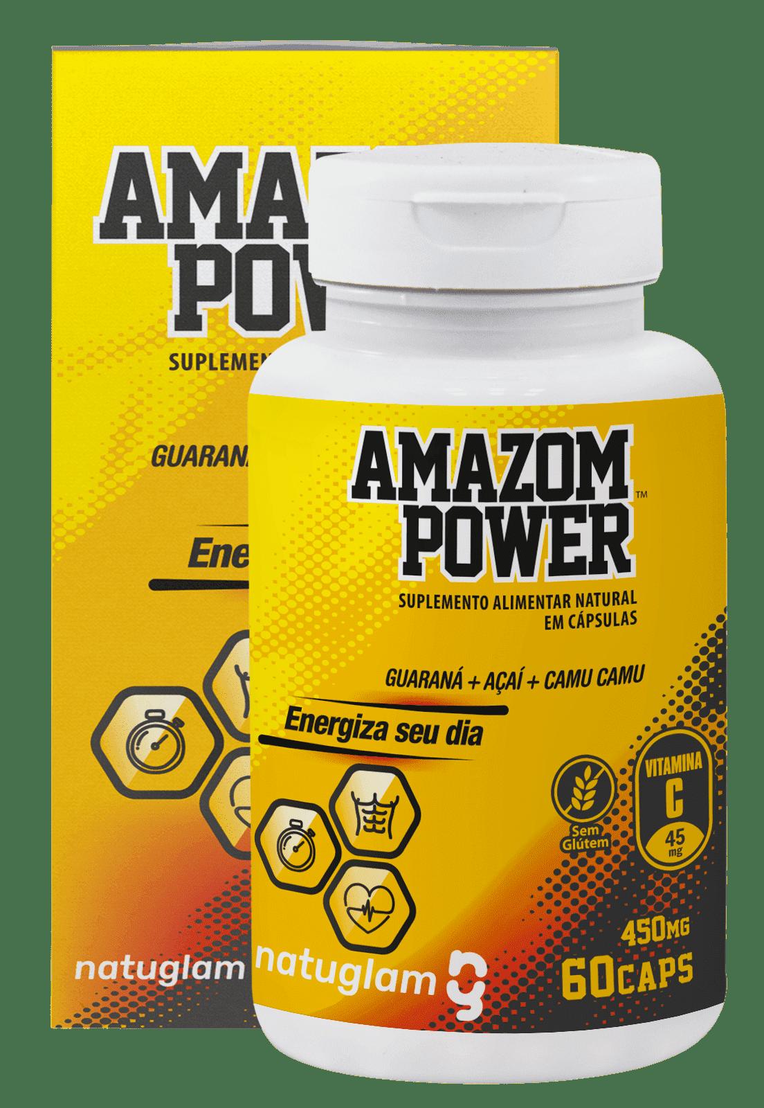 Amazom Power 60 Cáps - 500mg.