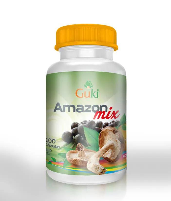 Amazon Mix 100 Cáps - 450mg.