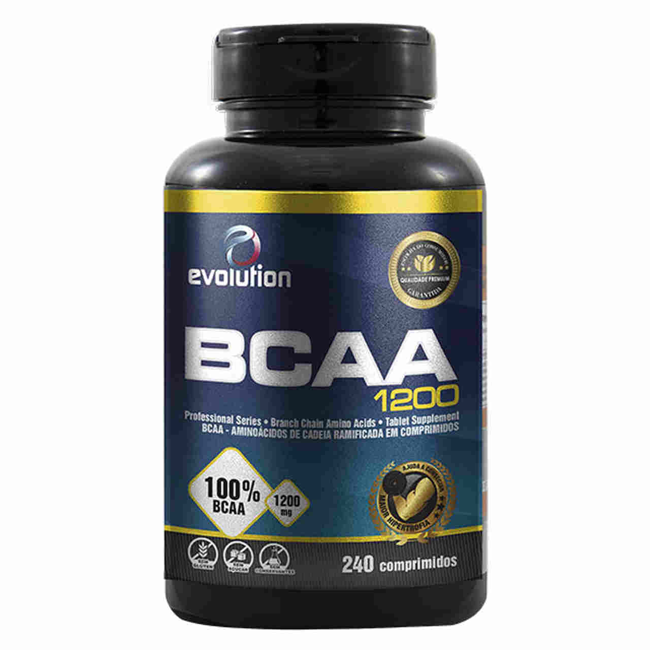 BCAA 1200 (240 Comp.) - Evolution.