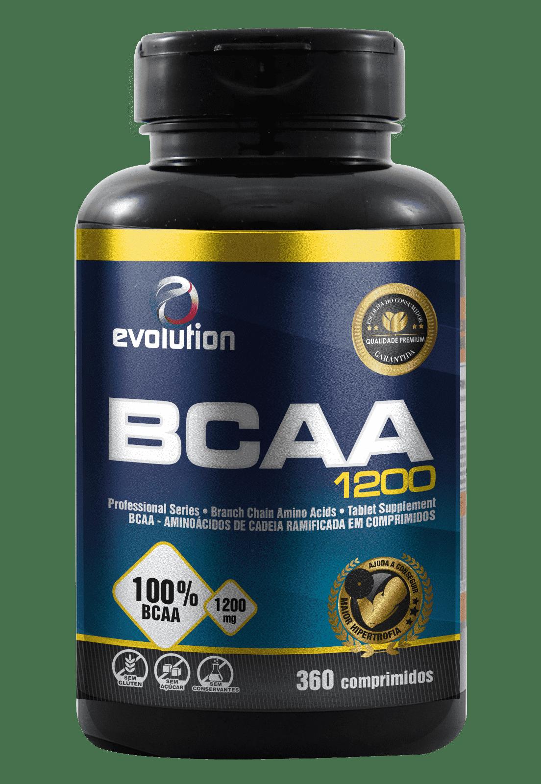 BCAA 1200 (360 Comp.) - Evolution.