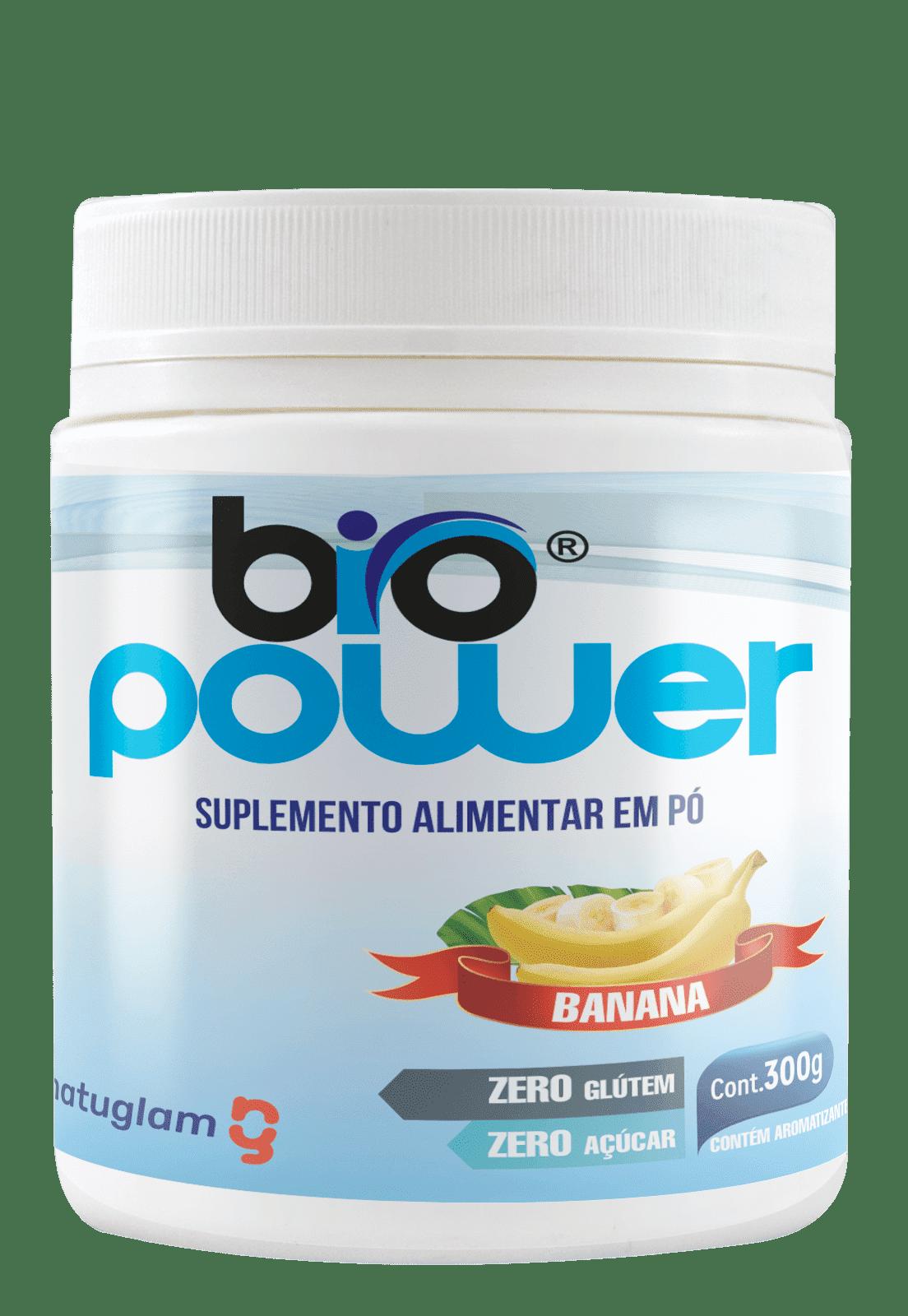 Biopower 300g - Banana.