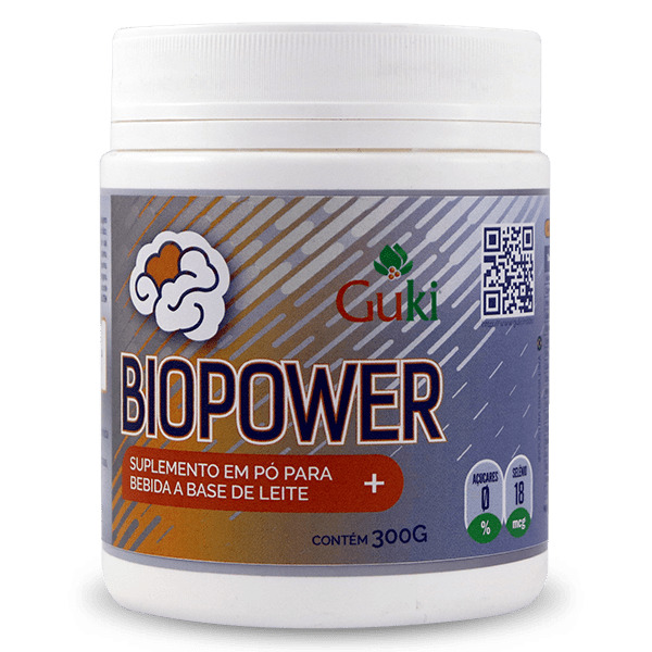 Biopower 300g - Morango.