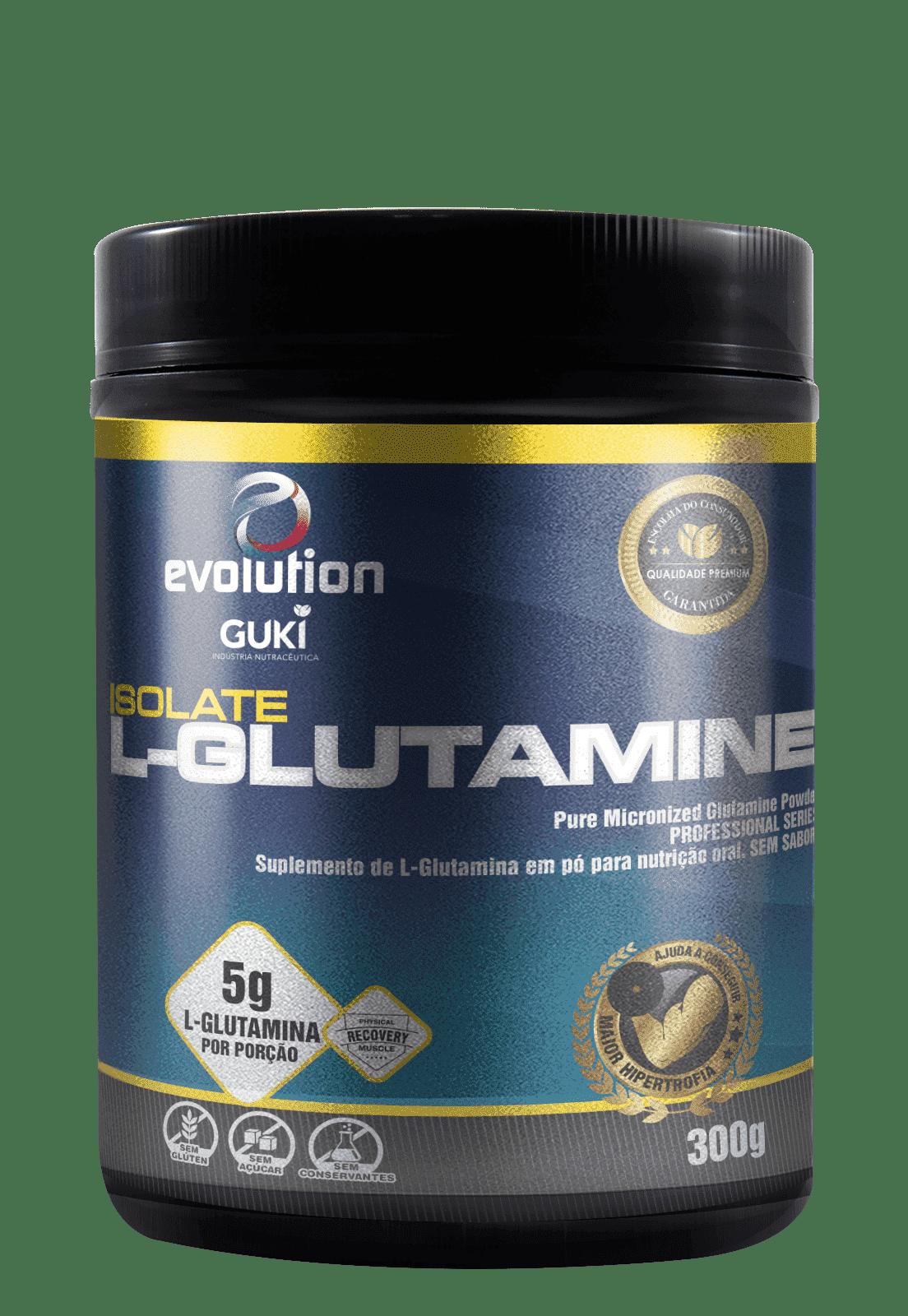 L- Glutamine Isolate (300g) - Evolution