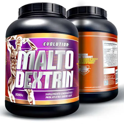 Maltodrextrin 1kg - Açaí.
