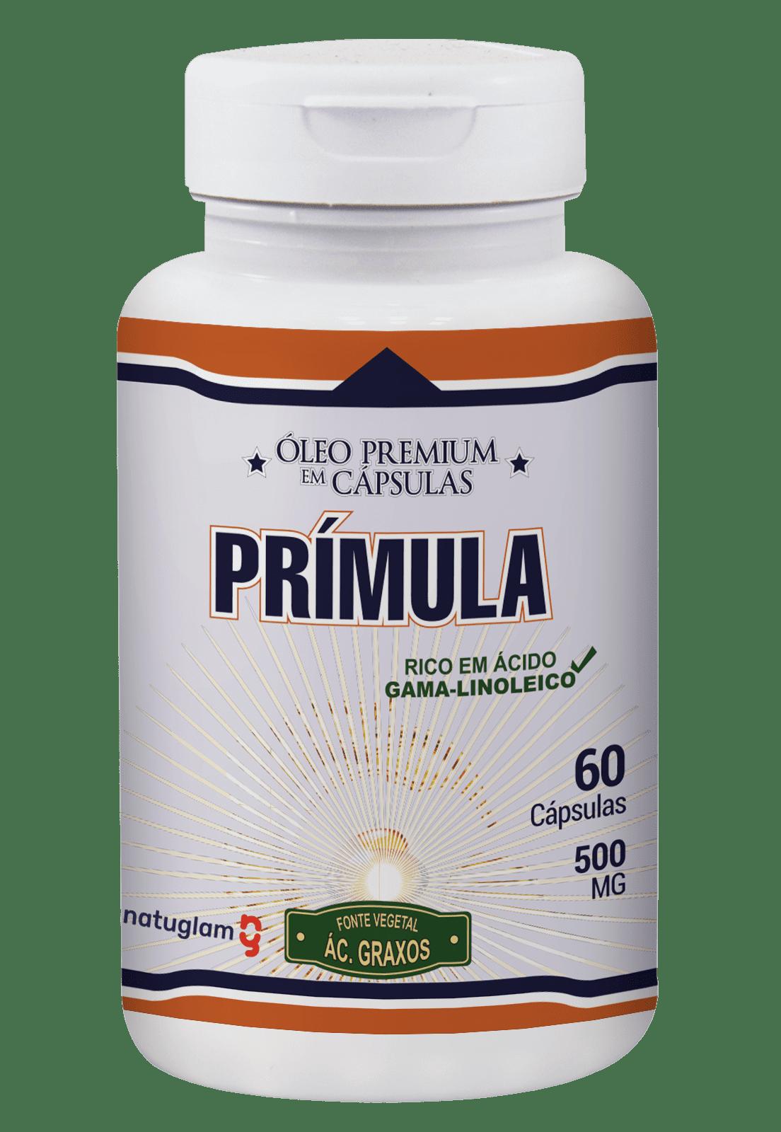 Óleo de Prímula (60 Cáps.) - 500mg.