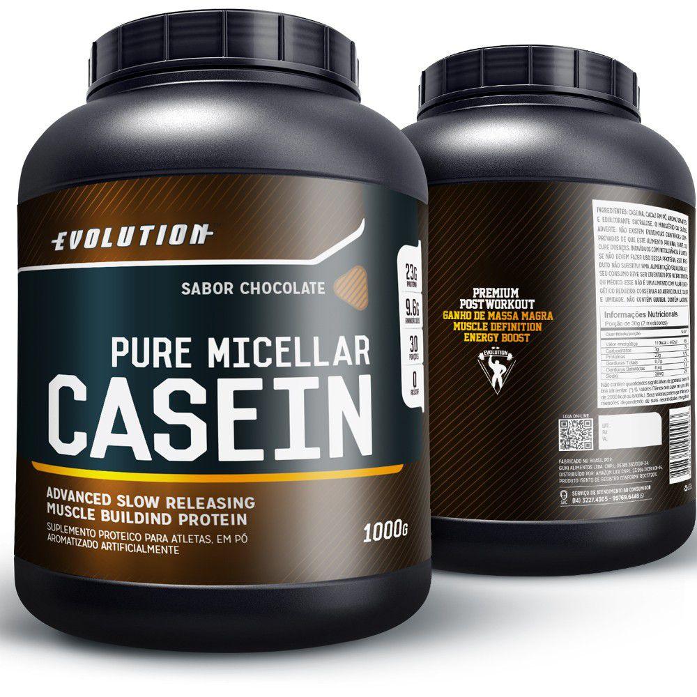 Pure Micellar Casein Evolution - Chocolate.