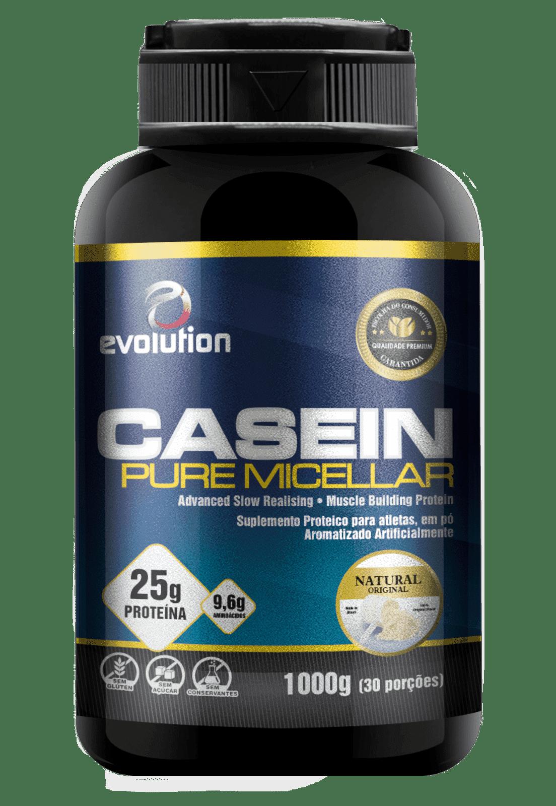 Pure Micellar Casein Evolution - Natural.