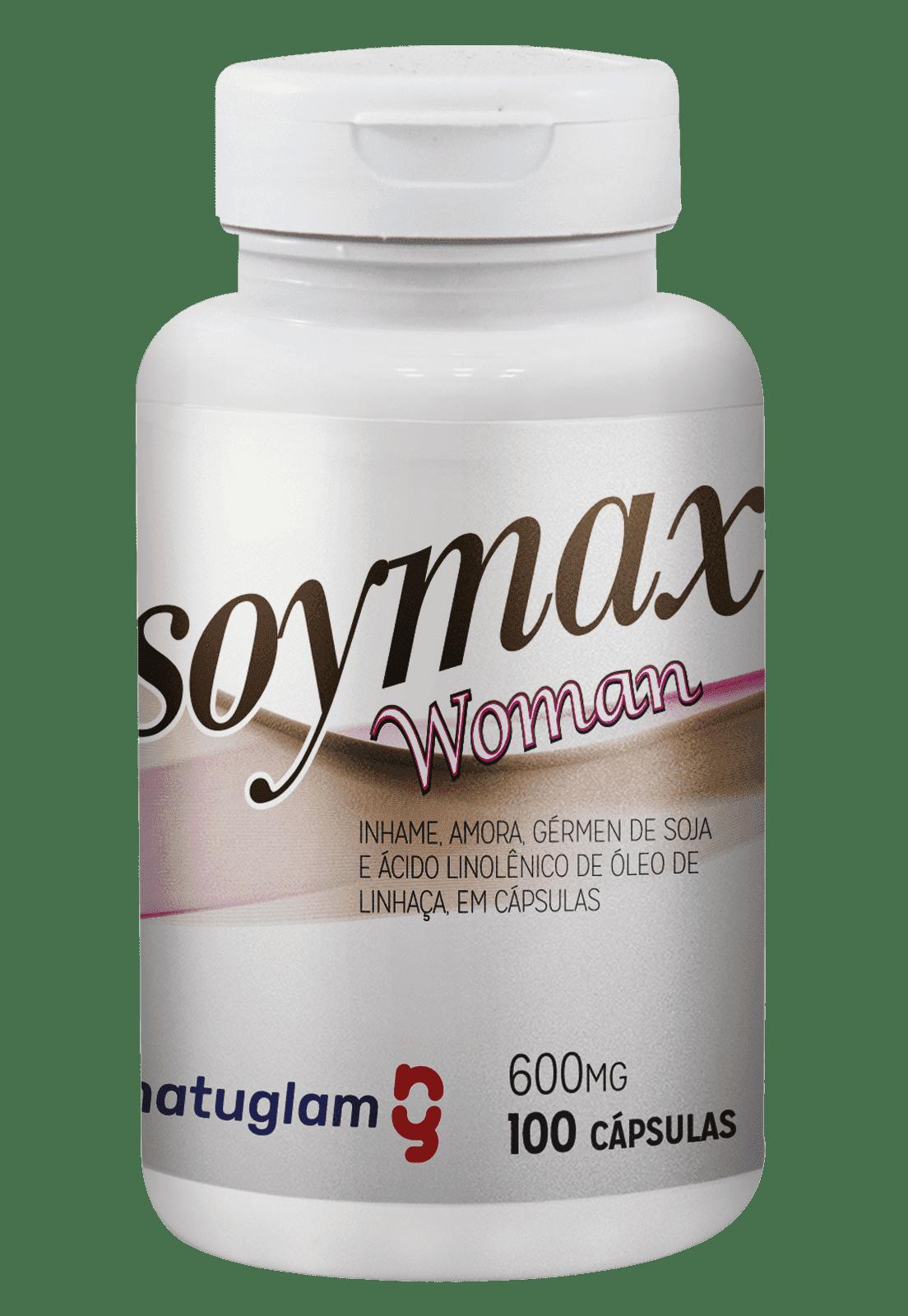 Soymax (100 Cáps.) - 600mg.