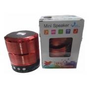 CAIXA DE SOM BLUETOOTH V3.0 WS-887 MINI SPEAKER VERMELHO CX-06 7834805859008