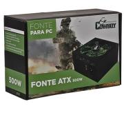 FONTE ATX PARA PC COWBOY 500W BIVOLT 5A7A 50HZ60HZ  CX03  7898594126311