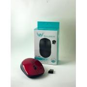 MOUSE OPTICO ALTOMEX AG-830  PRETO - VERMELHO USB SEN FIO CX03  8878920208309